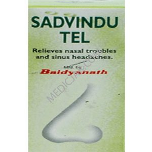 Baidyanath Sadvindu Tel – 50 ml (Oil) Pack of 2