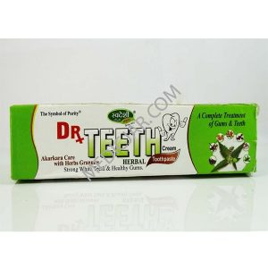 SWADESHI Dr. Teeth Herbal Tooth Paste - 100 gms