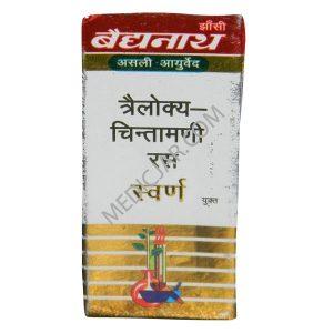 Baidyanath Trailokya Chintamani Ras Gold