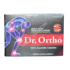 SBS Bio-Tech Dr. Ortho 100% ayurvedic 30 Capsules (Pack of 2)