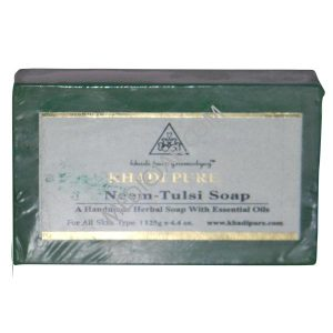Khadi Pure Neem Tulsi Soap (Pack of 3)