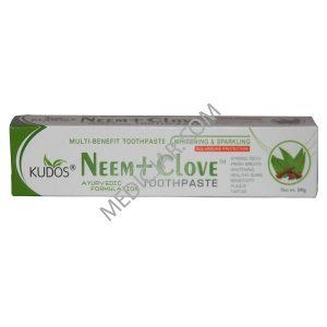 Kudos Neem + Clove Toothpaste