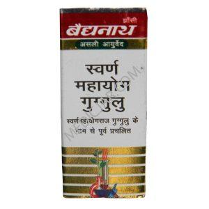 Baidyanath Swarna Mahayog Guggulu – 25