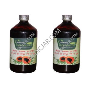 Gangotri Plato Gain Syrup (Increase Platelet Count) – Pack of 2