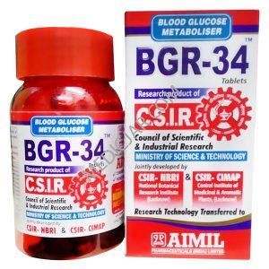 BGR-34 tablets benefits