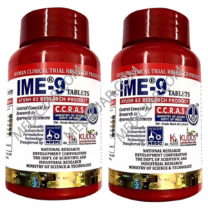 Kudos IME-9 (150 + 30) 180 tablets (Pack of 2)
