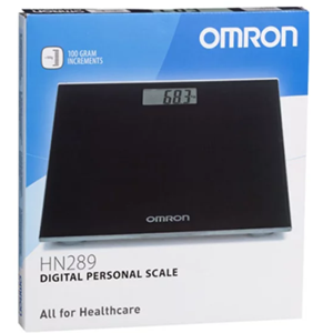 Omron HN-289 EB Weighing Scale Black